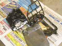 Разобранный фильтр АКПП Toyota