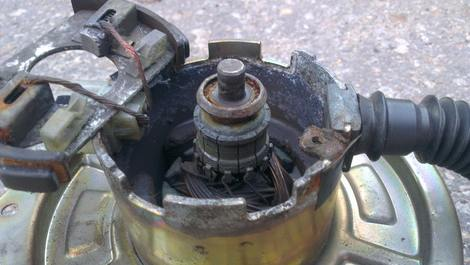дохлый мотор печки