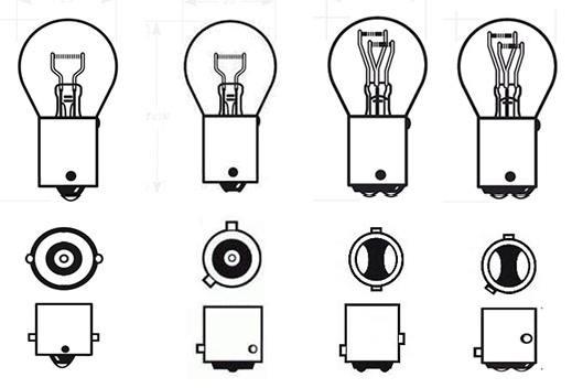 лампы заднего фонаря